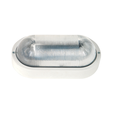 LIDO Outdoor Plastic Lighting Bulkhead, White PN224