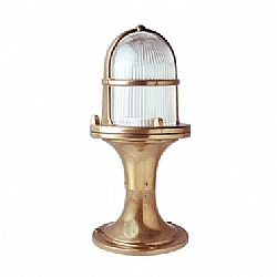 LIDO Outdoor Brass Lighting Post PN407 28CM
