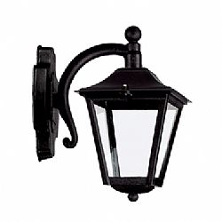 LIDO Outdoor Plastic Wall Sconce, Black PN186